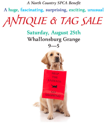 NCSPCA antique & tag sale