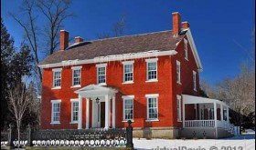 The Harmon Noble House in Essex, NY (Credit: virtualDavis)