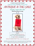 NCSPCA Antique and Tag Sale at the Grange