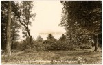 Vintage Photo: Lake Champlain from Crater Club