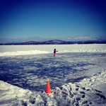 If You Clear It They Will Come: Skating on Lake Champlain