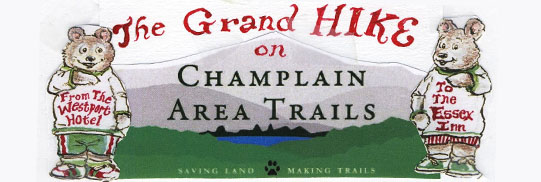The Grand Hike on Champlain Area Trails.
