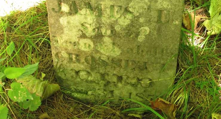 Crossett Cemetery (Photo: Eve Ticknor)