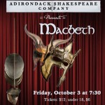 Adirondack Shakespeare Company Presents Macbeth