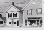 Vintage Photo: Hobby Horse and Tart Grocery