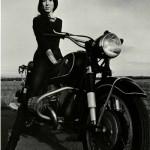 Women of '69 Film - Woman on Motorcycle (CVFS)