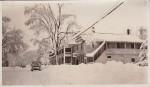 Vintage Photo: Snowy Main Street