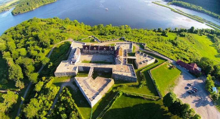 Aerial view of Fort Ticonderoga. (Credit: Fort Ticonderoga)