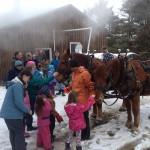 Come meet the horses! (Photo: Racey Bingham)