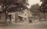 Postcard: Main Street with Vintage Car