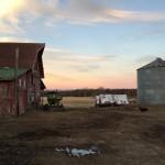 Essex Farm Sunset (Credit: Kristin Kimball)