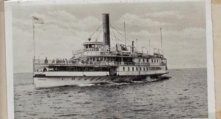 Ticonderoga Steam Ship (Credit: Unknown; Shared by Susie Drinkwine)