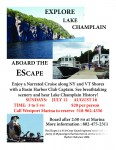 Depart from Westport on Lake Champlain Cruise
