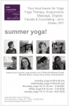 Summer Yoga at Lake Champlain Yoga & Wellness