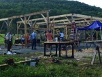 Full and By Farm: Barn Raising