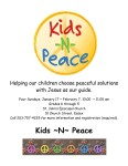 Kids ~ N ~ Peace: 8-Week Course at St. John's