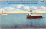 Vintage Postcard: Juniper Ferry