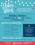 Grange to Host Holiday Market and Food Pantry Fundraiser