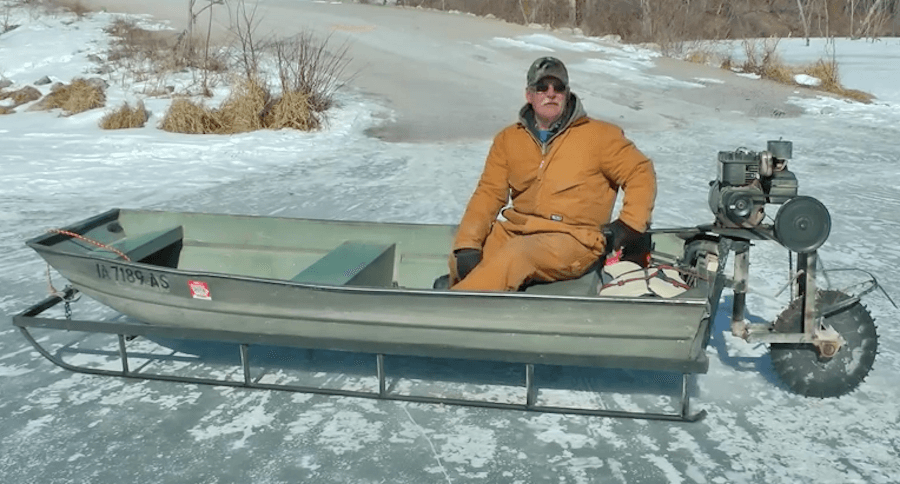 Как сделать рыбацкие сани