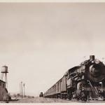 Vintage Postcard: Train in Boquet