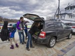 Commuters Fill VT Ferry Trip with Yoga, Music (Burlington Free Press)