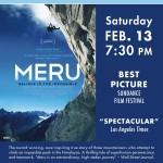 Champlain Valley Film Series to Show MERU