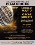 Champlain Valley Film Series to Show OSCAR SHORTS