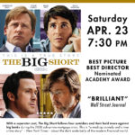 Champlain Valley Film Series to Show THE BIG SHORT