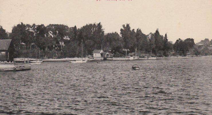 Vintage Postcard: North Bay, Essex, NY