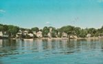 Vintage Postcard: View of Essex from Lake Champlain