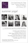 Summer & Kids' Yoga at Lake Champlain Yoga & Wellness