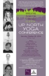 Third Up North Yoga Conference in Essex – Oct. 22, 2016