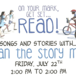 Stan the Story Man is coming to the library!