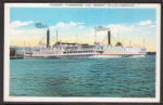 Vintage Postcard: Steamers Ticonderoga and Vermont