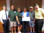 Willsboro Golf Tourney Raises $7,200 for Honor Flight (THE SUN)