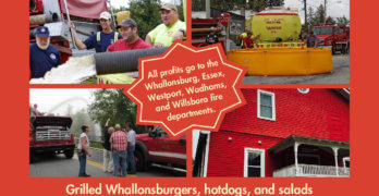 Whallonsburg Grange to Host Community Appreciation Day for Local Fire Dept. Volunteers
