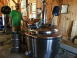 Gristmill Distills Local Grains in all Adirondack Weather (THE SUN)