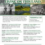 "Grange Lyceum Series ""Living on This Land"" Begins Sept. 27"