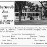 Vintage Artifact: Sherwood Inn Advertisement