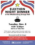 Election Night Dinner to be Held at Whallonsburg Grange