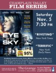 Champlain Valley Film Series Presents EYE IN THE SKY