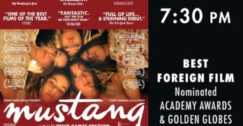 Champlain Valley Film Series to Show MUSTANG
