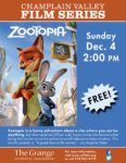 Champlain Valley Films to Show ZOOTOPIA