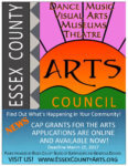 Time to Apply for an Arts & Culture Grant from the Essex County Arts Council