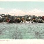 Vintage Postcard: Westport Waterfront Circa 1907
