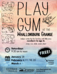 Grange to Host Wintertime Play Gym for Young Children