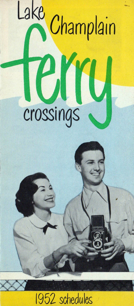 1952 Ferry Brochure-front