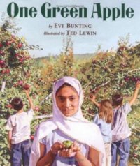 """Cover of """"One Green Apple"""""""