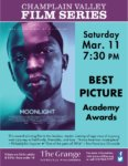 Champlain Valley Film Series to Show MOONLIGHT
