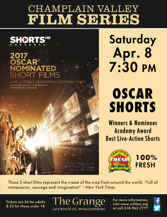 Oscar Shorts Poster 2017